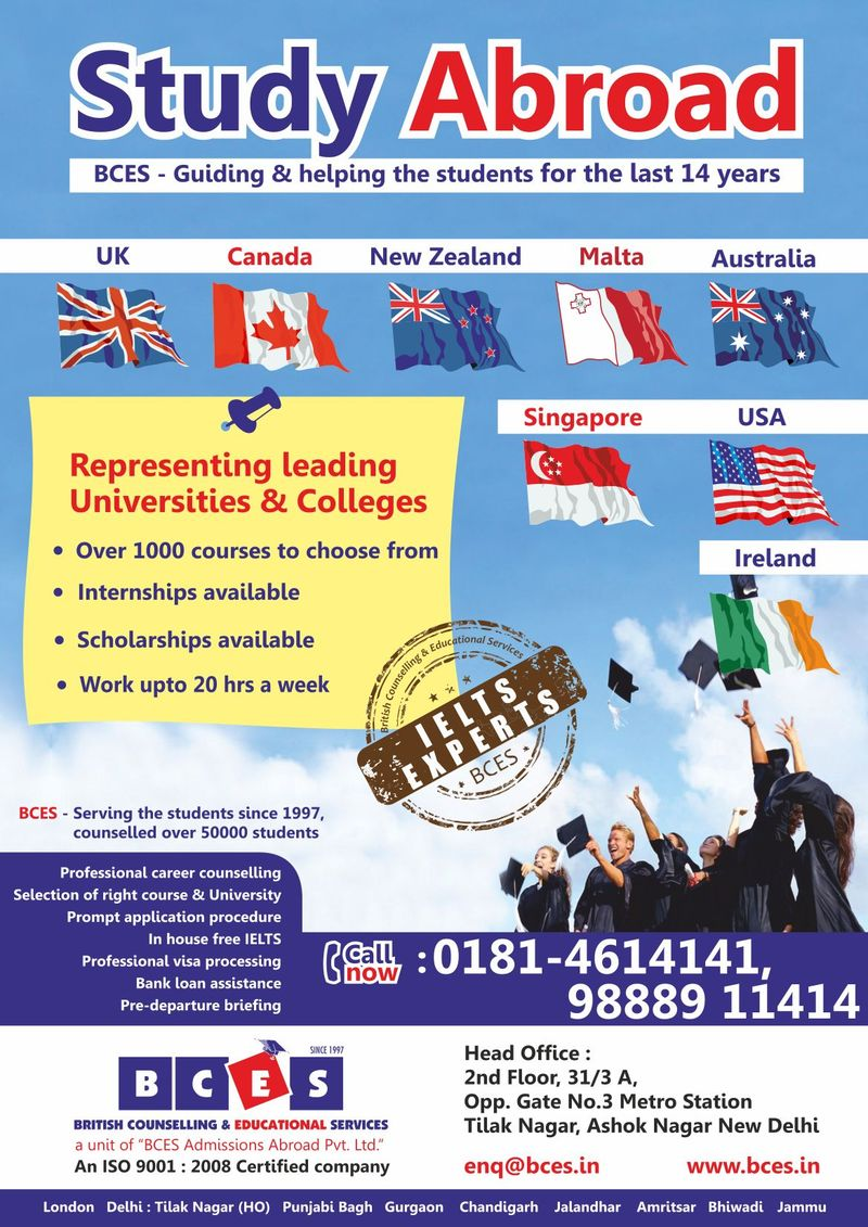 Study Abroad In UK New Zealand Canada