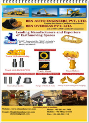Under Carriage Parts,  Earthmoving Spares,  Excavator Parts