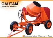 concrete mixer machine 10/7 cft