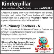 Wanted Preschool Teacher
