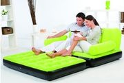 BEST WAY VELVET AIR SOFA BED