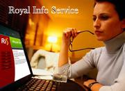 Royal Info Services Offered