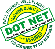 Training in DOTNET and MS SQL;  Call: 9779000815