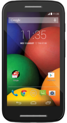 Motorola Moto E (Silver-66743)