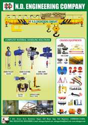 Indef  Chain Block / Cranes / Chain Hoist / Slings