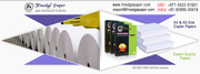 photocopy papers,  laser printing paper,  A3 A4 papers in india