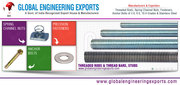 Threaded rods thread bars,  fasteners nuts bolts washers manufacturers