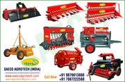 Rotavator,  Rota Seeder,  Thresher,  Straw Reaper,  Paddy Threshers india