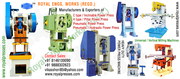 Power press machine hydraulic power press Pneumatic power press India