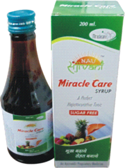 MIRACLE CARE SYRUP   SUGAR FREE