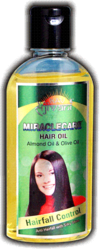 MIRACLE CARE HAIR OIL    { ALMOND & OLIVE OIL }