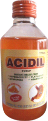 ACIDIL SYRUP                INSTANT RELIEF FROM HYPERACIDITY