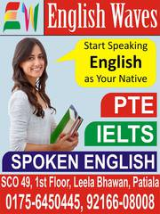 ENGLISH WAVES train you for IELTS and Spoken English
