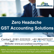 Accurate Accounting,  GST Accounting in Ludhiana