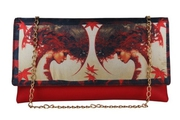 Red Clutch Slingbag For Women at ShoppyZip