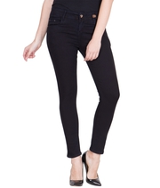 Buy Black Ankle Length Jeans at Just Rs.849