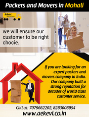 Offering home relocation services in Mohali,  Chandigarh