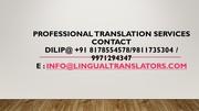 Russian Translation and Translator in Moga