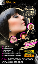 Beauty Parlour Services at Home in Mohali,  Chandigarh,  Panchkula