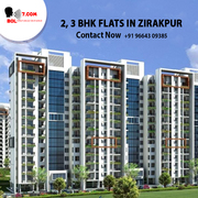 flats in zirakpur situated in good location