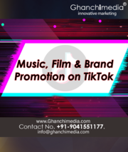 Song promotion on tiktok  india, Mumbai, delhi