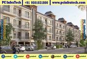 Manohar Singh Palm Spring Chandigarh corner 200 syd plots 95O1O318OO