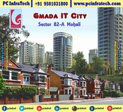 Gmada it city Mohali 300 gaj allotted plot at Sector 66B 95O1O318OO