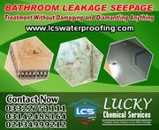 Bathroom Leakage and Seepage Treatment in Karachi Pakistan