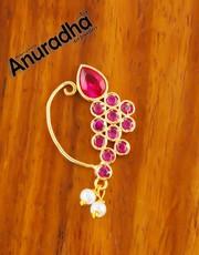 Buy Maharashtrian Nath at the Best Price by Anuradha Art Jewellery