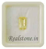 Gemstones Buy Natural Yellow Sapphire or Pukhraj Price at Rajpura