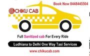 Delhi to ludhiana cab service