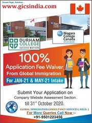 Applications are open for Jan & May 2021 intake in Canada