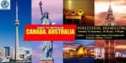 Want to settle in Canada & Australia.
