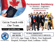 Canada PR available for Doctors & more professionals