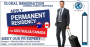 Apply permanent residency for Canada & Australia