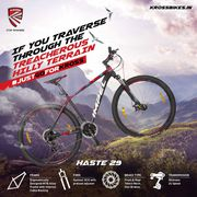 Designing the best quality mountain bicycle in India