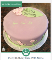A Collection Of 100+ Birthday Cake Images With Name