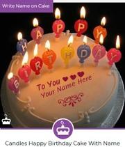 Happy Birthday Cake with Name Generator | Name Birthday Cakes