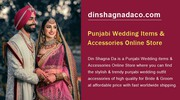 Punjabi Wedding Items & Accessories Online Store