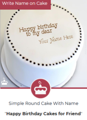 Name Birthday Cakes | Fantastic And Simple