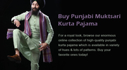 Buy Punjabi Muktsari Kurta Pajama Online
