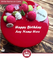 Wishing Happy Birthday with images | Name Birthday Cake