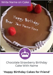 Fantastic and Simple Cake Images With Name | Name Birthday Cake