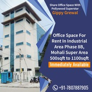 i want to rent office space in Mohali Phase 8B fully furnishied