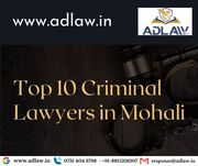 Top 10 Criminal Lawyers in Mohali
