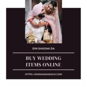 Buy Wedding Items Online